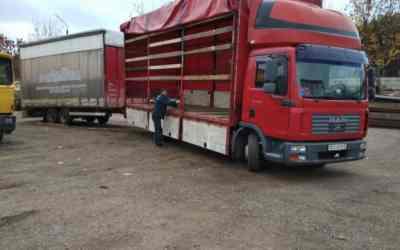 Грузовик Аренда грузовика MAN с прицепом заказать или взять в аренду, цены, предложения компаний