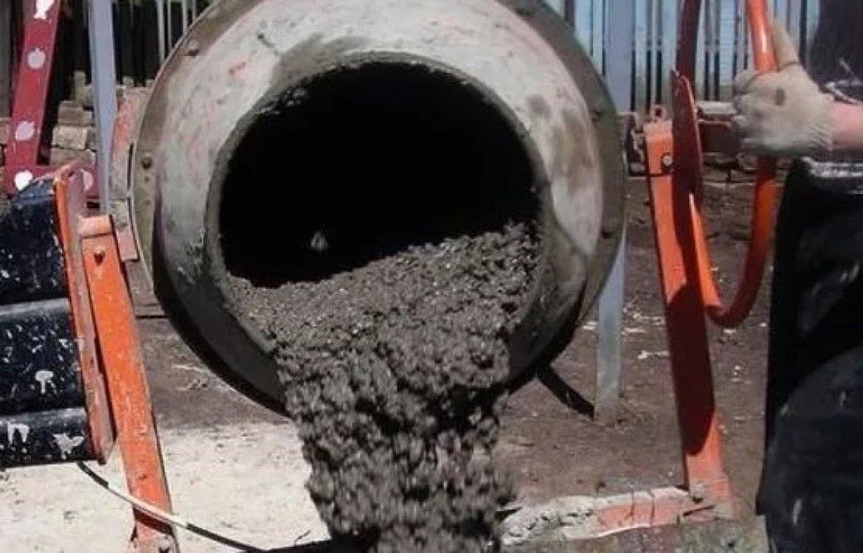 технология приготовления бетона в бетономешалке